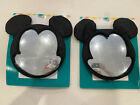 Disney+Mickey+Mouse+Infant+Rear+Facing+Travel+Mirror+For+Car+Set+Of+2+Brand+New