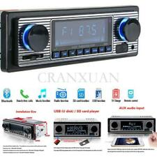 Car In-dash MP3 Stereo Radio Player Bluetooth 4-CH Output FM USB/AUX +Remote