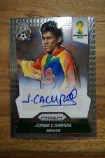 2014 Panini Prizm World Cup Signatures Jorge Campos Mexico Legend El Brody