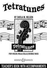 Tetratunes; Teacher's Book, partituras; Nelson, Sheila Mary. - 979006003936
