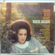 WANDA JACKSON blues in my heart LP VG ST 8 2306 Vinyl Rare Record Club 1st Press