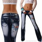 Crazy Age Jeans bootcut 34 36 38 40 42 femmes jeans de taille basse pantalon