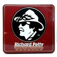 Richard Petty Souvenir Set Tin with Shirt Hat Belt Buckle Mug & More, Vintage