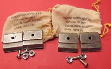 Lot 2 Sets Tefloy Support Blocks Cp10 10a Carter Cp10 Band Saw Guide Jawsblade