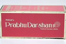 Nikhil's Prabhu Darshan Incense Sticks Joss Sticks/ Agarbatti 12 x 15 Sticks
