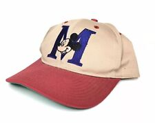 Vintage Mickey Mouse Disney Baseball Cap Snapback Hat 90s