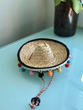 Sombrero Hat For Small Pet Cat Dog Clothes Costume Festive