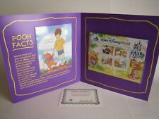 Winnie the Pooh Collectible-Collector Limited Government Postage Stamps-Disney