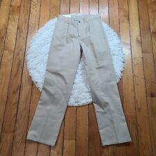 NWT IZOD Boys Pleated Twill Pants Size 16 Slim