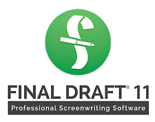 Final Draft 11 Professional Screenwriting Software For Windows Lifetime Activate