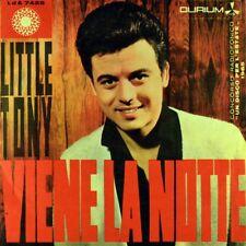 """7"""" LITTLE TONY Viene la notte / Fingero' di crederti DURIUM Italy 1965 like NEW!"""