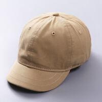 aacfaee8 Short Brim Baseball Cap Men Women Adjustable Trucker Summer Hats Casual  Snapback