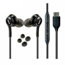 NEW Original OEM Samsung AKG Note 10 10+ USB-C Headphones in Bulk Pkg - BLACK