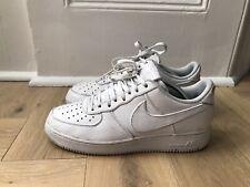 Airforce 1 Nike Size 8 Uk Buffalo Leather White