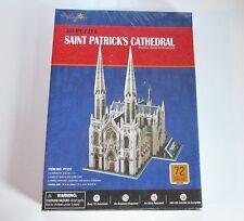 3D Puzzle St Patrick's Cathedral 72 Pieces DIY Assemble, Christian Toy
