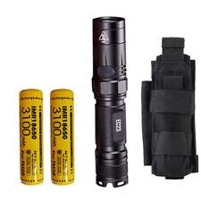 Combo: Nitecore EC23 Flashlight w/2x 3100mAh 10A Battery & NCP30 Holster