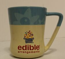 Edible Arrangements Baby Blue Cream Color Large 16 oz Coffee Mug Cup