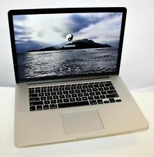 "2015 Apple MacBook Pro 15.4"" Retina Intel Core i7 4th Gen 16GB 256GB Catalina OS"