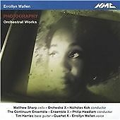 Errollyn Wallen: Photography, Matthew Sharp, Philip Headlam, Q, Audio CD, New, F