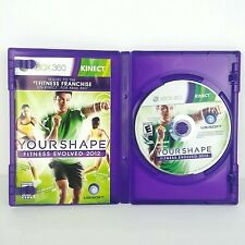 Your Shape: Fitness Evolved 2012 Microsoft Xbox 360 Kinect Workout Video Game