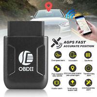 OBD2 GPS Tracker Echtzeit-Fahrzeugortungsgerät OBD II für Auto-LKW-Locator