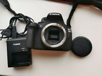 Low shutter count Canon EOS 1200d camera body