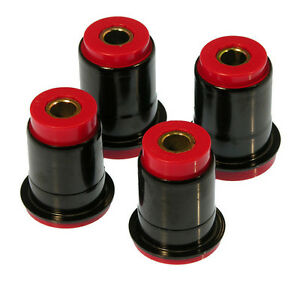 Prothane 79-93 Ford Mustang Front Control Arm Bushing Kit Red (with Shells)