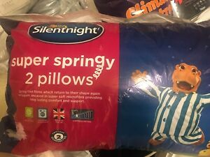 Silentnight super springy 2 Pillows