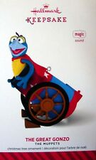 2014 HALLMARK DISNEY THE MUPPETS ORNAMENT ~ THE GREAT GONZO ~ MAGIC WITH  SOUND