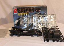 1989 Amt Ertl Batman Batmobile 1/25 Model Kit #6877 New Not Sealed