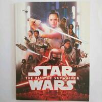 STAR WARS Japan cinema movie PROGRAM The RISE of SKYWALKER normal version