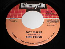 King Floyd: Body English / I Really Love You 45 - Soul