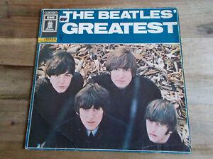 "The Beatles ""Greatest"" Vinyl - EMI ODEON 1C062-04207"