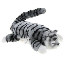 Cuddly Electronic Cat Interactive Plush Animal Robot Toys Electric Robotic Pet -