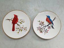 Don Eckelberry Bird Avon Products Dinner Plates