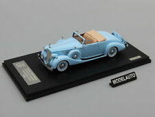 GLM 1:43 Packard Twelve Model 1407 Bohman & Schwartz Convertible Coupe 1936 blue