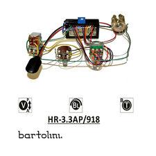 Bartolini HR-3.3AP Pre-Wired 2 Band EQ Active/Passive Preamp
