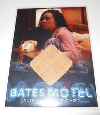 BATES MOTEL SAN DIEGO COMIC CON PROP TRADING CARD BEDSPREAD SEASON 1 (V2)