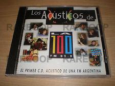 Gustavo Cerati & Zeta Bosio (CD) Bajan En Vivo [Soda Stereo] Acusticos La 100