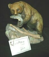 Homco 1994 Masterpiece Porcelain Endangered Species Brown Bear Figurine EX. CON.