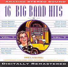 16 Big Band Hits, Vol. 7 by Various Artists (Cassette, Nov-1994, Michele)