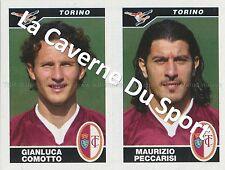N°620 COMOTTO - PECCARISI # ITALIA TORINO.FC STICKER PANINI CALCIATORI 2005