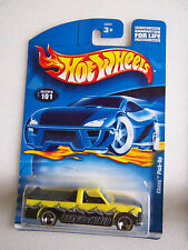Hot Wheels 2001 ISSUE CHEVY PICK UP COLLECTOR #101 VARIATION 1