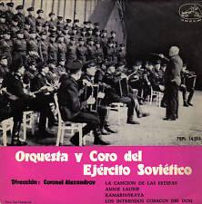 ORQUESTA Y CORO DEL EJERCITO SOVIETICO-LA CANCION DE