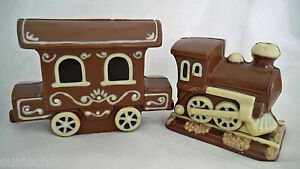 Hand-made Belgian Chocolate Train and Carriage