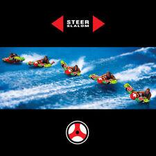 WOW Watersports Bazooka Slalom 1-2 Rider Inflatable Tube Boat Towable 12-1040