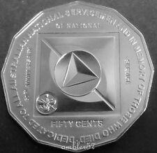 """** 2011 Australian """"National Service"""" 50cent UNC**"""