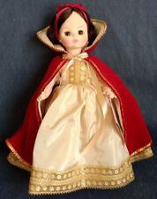 """Madame Alexander ~ """"Snow White"""" ~ 14"""" DOLL ~  #1556 ~ Red Cape ~ Original Box"""