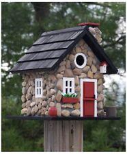 Windy Ridge Stone Bird House by Home Bazaar