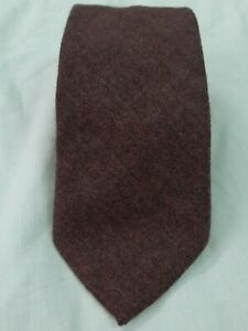 Ermenegildo Zegna cravatta tie necktie 100% cashmere grigio tinta unita A552
